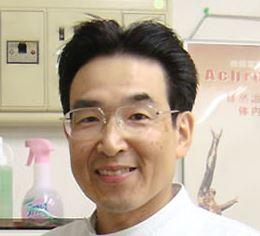 ときわ接骨院院長 田中強 の笑顔の写真