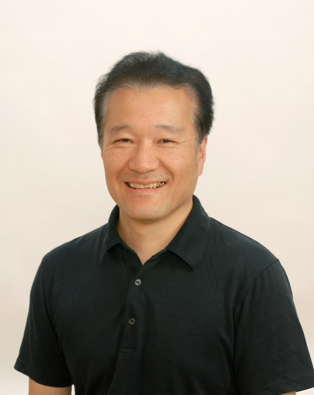院長戸田信也の笑顔の写真